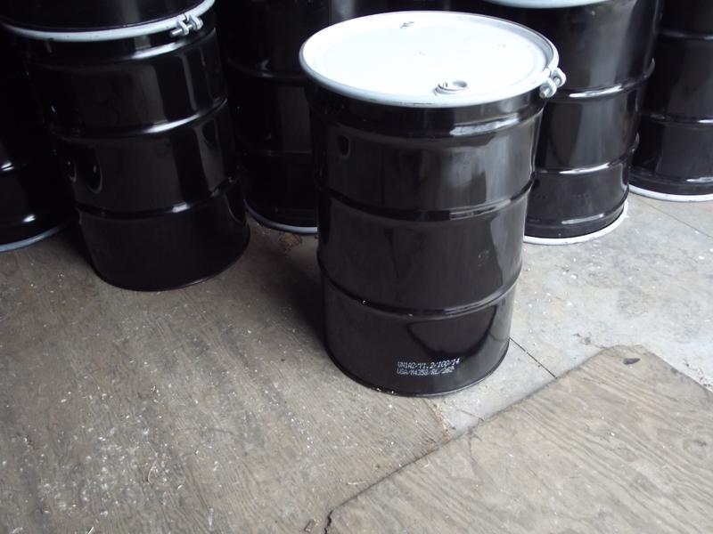 UN-rated steel drum